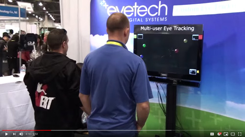 CES 2015 – 1st Multi-User Eye Tracking TV Display