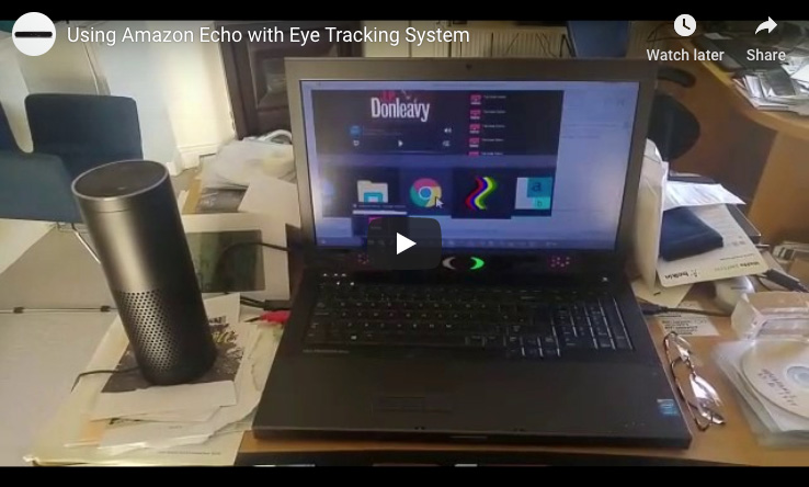 Eye Tracking and the Amazon Echo